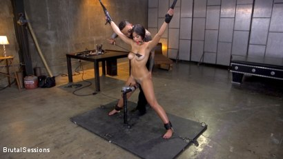 Photo number 1 from New Slut Kendra Spade Bound in Rope, Anally Fucked With Enormous Cock! shot for Brutal Sessions on Kink.com. Featuring Eddie Jaye and Kendra Spade in hardcore BDSM & Fetish porn.