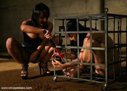 Photo number 1 from Sandra Romain and Julie Night shot for Whipped Ass on Kink.com. Featuring Sandra Romain and Julie Night in hardcore BDSM & Fetish porn.