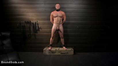 Photo number 9 from The Good Slave: Tough built boy Brian Bonds returns shot for Bound Gods on Kink.com. Featuring Sebastian Keys, Brian Bonds and Mason Lear in hardcore BDSM & Fetish porn.