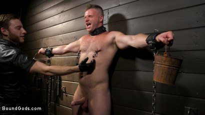 Photo number 11 from The Good Slave: Tough built boy Brian Bonds returns shot for Bound Gods on Kink.com. Featuring Sebastian Keys, Brian Bonds and Mason Lear in hardcore BDSM & Fetish porn.