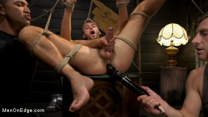 Photo number 14 from In Home Entertainment: Captive Slut Max Adonis Edged, Fucked, Tickled shot for Men On Edge on Kink.com. Featuring Max Adonis in hardcore BDSM & Fetish porn.