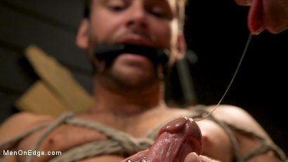 Photo number 20 from In Home Entertainment: Captive Slut Max Adonis Edged, Fucked, Tickled shot for Men On Edge on Kink.com. Featuring Max Adonis in hardcore BDSM & Fetish porn.