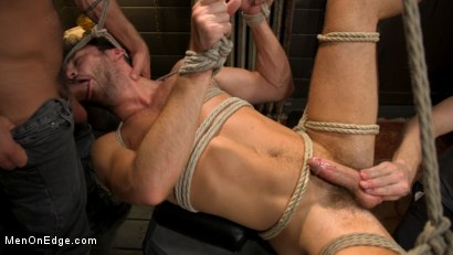 Photo number 3 from In Home Entertainment: Captive Slut Max Adonis Edged, Fucked, Tickled shot for Men On Edge on Kink.com. Featuring Max Adonis in hardcore BDSM & Fetish porn.