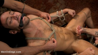 Photo number 5 from In Home Entertainment: Captive Slut Max Adonis Edged, Fucked, Tickled shot for Men On Edge on Kink.com. Featuring Max Adonis in hardcore BDSM & Fetish porn.