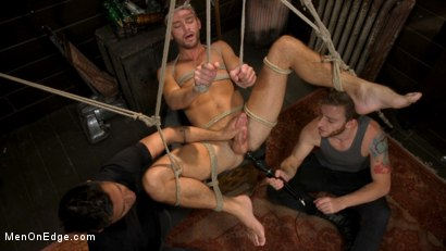 Photo number 7 from In Home Entertainment: Captive Slut Max Adonis Edged, Fucked, Tickled shot for Men On Edge on Kink.com. Featuring Max Adonis in hardcore BDSM & Fetish porn.