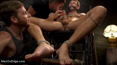 Photo number 11 from In Home Entertainment: Captive Slut Max Adonis Edged, Fucked, Tickled shot for Men On Edge on Kink.com. Featuring Max Adonis in hardcore BDSM & Fetish porn.