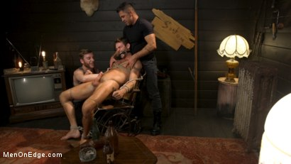 Photo number 18 from In Home Entertainment: Captive Slut Max Adonis Edged, Fucked, Tickled shot for Men On Edge on Kink.com. Featuring Max Adonis in hardcore BDSM & Fetish porn.