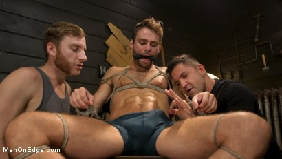 Photo number 1 from In Home Entertainment: Captive Slut Max Adonis Edged, Fucked, Tickled shot for Men On Edge on Kink.com. Featuring Max Adonis in hardcore BDSM & Fetish porn.