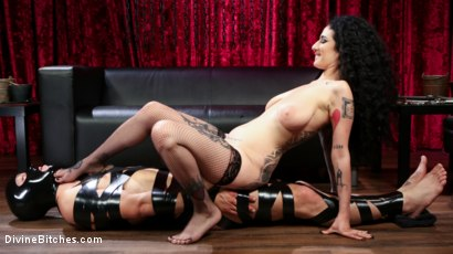 Photo number 22 from Bad Boy Toy shot for Divine Bitches on Kink.com. Featuring Arabelle Raphael and DJ in hardcore BDSM & Fetish porn.