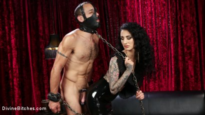 Photo number 4 from Bad Boy Toy shot for Divine Bitches on Kink.com. Featuring Arabelle Raphael and DJ in hardcore BDSM & Fetish porn.