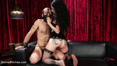 Photo number 8 from Bad Boy Toy shot for Divine Bitches on Kink.com. Featuring Arabelle Raphael and DJ in hardcore BDSM & Fetish porn.