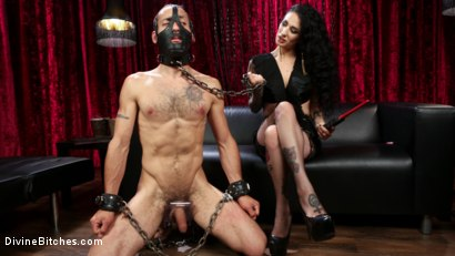 Photo number 9 from Bad Boy Toy shot for Divine Bitches on Kink.com. Featuring Arabelle Raphael and DJ in hardcore BDSM & Fetish porn.