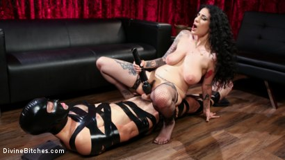 Photo number 27 from Bad Boy Toy shot for Divine Bitches on Kink.com. Featuring Arabelle Raphael and DJ in hardcore BDSM & Fetish porn.