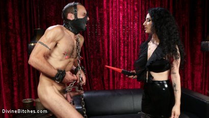 Photo number 6 from Bad Boy Toy shot for Divine Bitches on Kink.com. Featuring Arabelle Raphael and DJ in hardcore BDSM & Fetish porn.