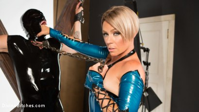 Photo number 1 from Helena Locke and Tony Orlando: Fucked and Cucked  shot for Divine Bitches on Kink.com. Featuring Helena Locke and Tony Orlando in hardcore BDSM & Fetish porn.