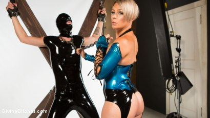 Photo number 2 from Helena Locke and Tony Orlando: Fucked and Cucked  shot for Divine Bitches on Kink.com. Featuring Helena Locke and Tony Orlando in hardcore BDSM & Fetish porn.