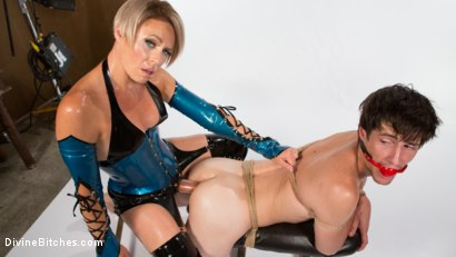 Photo number 16 from Helena Locke and Tony Orlando: Fucked and Cucked  shot for Divine Bitches on Kink.com. Featuring Helena Locke and Tony Orlando in hardcore BDSM & Fetish porn.