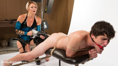 Photo number 18 from Helena Locke and Tony Orlando: Fucked and Cucked  shot for Divine Bitches on Kink.com. Featuring Helena Locke and Tony Orlando in hardcore BDSM & Fetish porn.