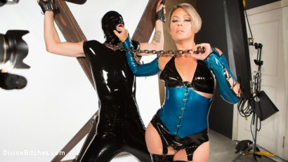 Photo number 3 from Helena Locke and Tony Orlando: Fucked and Cucked  shot for Divine Bitches on Kink.com. Featuring Helena Locke and Tony Orlando in hardcore BDSM & Fetish porn.