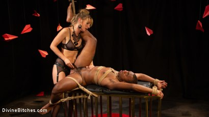 Photo number 15 from TEDxxx: Kinky Ideas Worth Spreading shot for Divine Bitches on Kink.com. Featuring Mona Wales and Buck Wright in hardcore BDSM & Fetish porn.