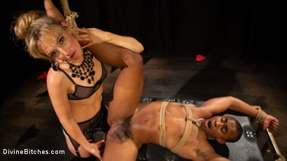 Photo number 16 from TEDxxx: Kinky Ideas Worth Spreading shot for Divine Bitches on Kink.com. Featuring Mona Wales and Buck Wright in hardcore BDSM & Fetish porn.