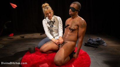 Photo number 6 from TEDxxx: Kinky Ideas Worth Spreading shot for Divine Bitches on Kink.com. Featuring Mona Wales and Buck Wright in hardcore BDSM & Fetish porn.