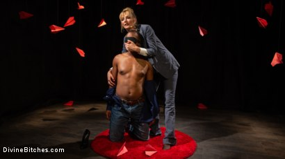 Photo number 1 from TEDxxx: Kinky Ideas Worth Spreading shot for Divine Bitches on Kink.com. Featuring Mona Wales and Buck Wright in hardcore BDSM & Fetish porn.
