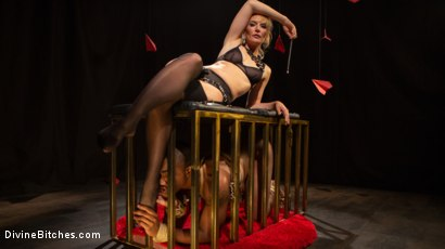 Photo number 12 from TEDxxx: Kinky Ideas Worth Spreading shot for Divine Bitches on Kink.com. Featuring Mona Wales and Buck Wright in hardcore BDSM & Fetish porn.
