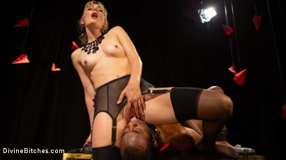 Photo number 20 from TEDxxx: Kinky Ideas Worth Spreading shot for Divine Bitches on Kink.com. Featuring Mona Wales and Buck Wright in hardcore BDSM & Fetish porn.