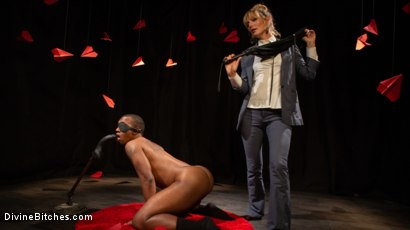Photo number 3 from TEDxxx: Kinky Ideas Worth Spreading shot for Divine Bitches on Kink.com. Featuring Mona Wales and Buck Wright in hardcore BDSM & Fetish porn.