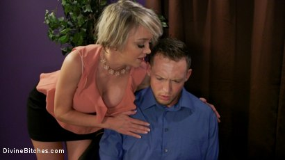 Photo number 1 from Couple's Cuckold Conundrum  shot for Divine Bitches on Kink.com. Featuring Dee Williams, Kip Johnson and Pierce Paris in hardcore BDSM & Fetish porn.
