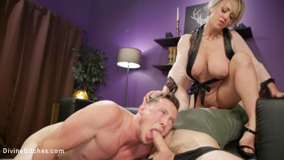 Photo number 14 from Couple's Cuckold Conundrum  shot for Divine Bitches on Kink.com. Featuring Dee Williams, Kip Johnson and Pierce Paris in hardcore BDSM & Fetish porn.
