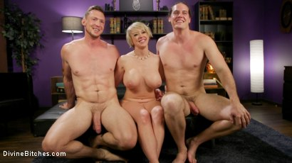 Photo number 34 from Couple's Cuckold Conundrum  shot for Divine Bitches on Kink.com. Featuring Dee Williams, Kip Johnson and Pierce Paris in hardcore BDSM & Fetish porn.