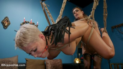 Photo number 14 from Playthings: Ryan Keely & Lydia Black Are Cherie DeVille's Willing Toys shot for Whipped Ass on Kink.com. Featuring Ryan Keely, Lydia Black  and Cherie DeVille in hardcore BDSM & Fetish porn.