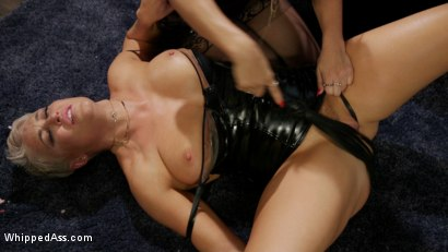 Photo number 10 from Playthings: Ryan Keely & Lydia Black Are Cherie DeVille's Willing Toys shot for Whipped Ass on Kink.com. Featuring Ryan Keely, Lydia Black  and Cherie DeVille in hardcore BDSM & Fetish porn.