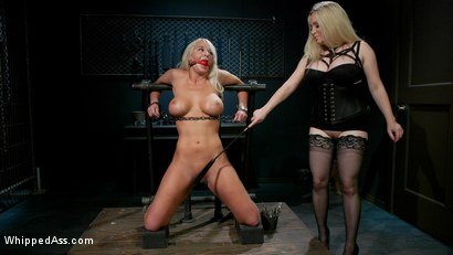 Photo number 3 from Screamer: The Intimate Torment of London River shot for Whipped Ass on Kink.com. Featuring Aiden Starr and London River in hardcore BDSM & Fetish porn.
