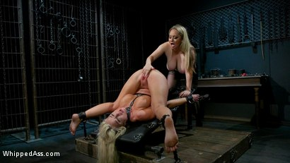 Photo number 17 from Screamer: The Intimate Torment of London River shot for Whipped Ass on Kink.com. Featuring Aiden Starr and London River in hardcore BDSM & Fetish porn.
