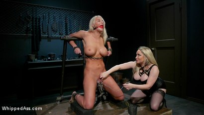 Photo number 7 from Screamer: The Intimate Torment of London River shot for Whipped Ass on Kink.com. Featuring Aiden Starr and London River in hardcore BDSM & Fetish porn.