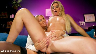 Photo number 13 from Hot Under Her Spell: Julia Ann dominates hypnotherapist India Summer shot for Whipped Ass on Kink.com. Featuring Julia Ann and India Summer in hardcore BDSM & Fetish porn.