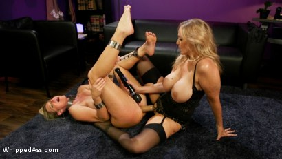 Photo number 16 from Hot Under Her Spell: Julia Ann dominates hypnotherapist India Summer shot for Whipped Ass on Kink.com. Featuring Julia Ann and India Summer in hardcore BDSM & Fetish porn.