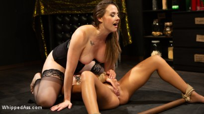 Photo number 15 from Virgin Lesbian Witchcraft: Chanel Preston Enchants Isabella Nice shot for Whipped Ass on Kink.com. Featuring Chanel Preston and Isabella Nice in hardcore BDSM & Fetish porn.