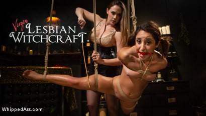 Virgin Lesbian Witchcraft: Chanel Preston Enchants Isabella Nice