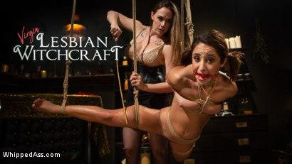 Virgin Lesbian Witchcraft: Chanel Preston Enchants Isabella Nice