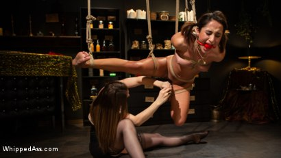 Photo number 4 from Virgin Lesbian Witchcraft: Chanel Preston Enchants Isabella Nice shot for Whipped Ass on Kink.com. Featuring Chanel Preston and Isabella Nice in hardcore BDSM & Fetish porn.