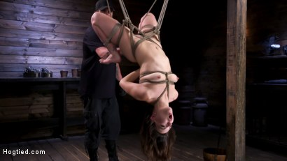 Photo number 2 from Pain Slut Juliette March In Predicament Bondage And Suffering shot for Hogtied on Kink.com. Featuring Juliette March in hardcore BDSM & Fetish porn.