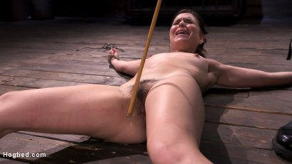 Photo number 10 from Pain Slut Juliette March In Predicament Bondage And Suffering shot for Hogtied on Kink.com. Featuring Juliette March in hardcore BDSM & Fetish porn.