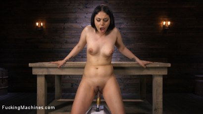 Photo number 12 from Latina Goth Slut is Machine Fucked shot for Fucking Machines on Kink.com. Featuring Rose Darling in hardcore BDSM & Fetish porn.