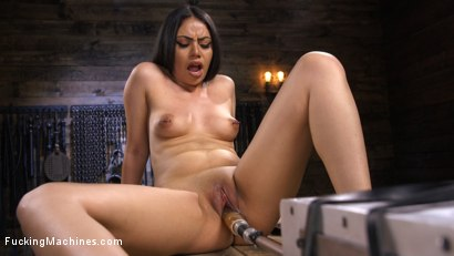 Photo number 6 from Latina Goth Slut is Machine Fucked shot for Fucking Machines on Kink.com. Featuring Rose Darling in hardcore BDSM & Fetish porn.