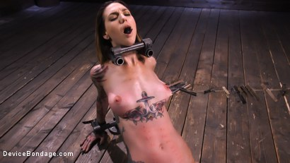 Photo number 11 from She Smiles When The Pain Comes shot for Device Bondage on Kink.com. Featuring Rocky Emerson in hardcore BDSM & Fetish porn.