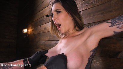 Photo number 9 from She Smiles When The Pain Comes shot for Device Bondage on Kink.com. Featuring Rocky Emerson in hardcore BDSM & Fetish porn.